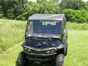 Full Cab Enclosure + Clear Lexan Windshield Mahindra 750 Xtv New