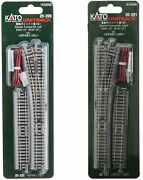 Kato 20-220 20-221 4 Left And Right Turnout With 481mm 15º Curve N Scale Japan