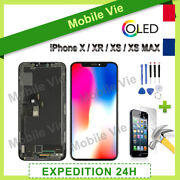 Ecran Oled Lcd Vitre Tactile Sur Chassis Pour Iphone X/xr/xs/xs Max/ 11 + Outils