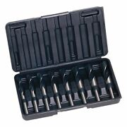 Sutton Tools 8-piece Imperial Reduced Shank Metal Drill Bit Set D188s8r 9/16-1