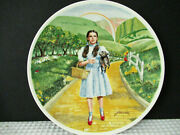 Vintage Knowles Wizard Of Oz Set Of 3 Collector Plates Preowned Nice