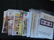Table Runners, Andplace Mat Patterns - You Pick - Read Listing