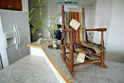 Antique 19th Century Kids Rocking Chair With History