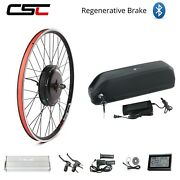 48v 1500w Ebike Conversion Kit Motor Wheel 20-29 Inch 700c Include Battery