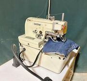 Brother Dh4-b980-01 Key Hole Button Hole Industrial Sewing Machine Japan