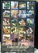 Cows On Parade Chicago 1999 Framed Official Poster