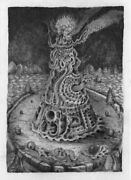 David Welker Fine Art Giclee Print The Lighthouse Signed Limited Edition
