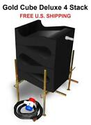 Gold Cube 4 Stack Deluxe | Complete Kit | Gold Prospecting | Sluice | New In Box