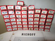 Lot Of 54 Nos Niehoff Ignition Parts Point Set Condenser Rotor Switch Brush Ect
