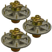 Oakten 3-pack Replacement Mower Spindle Assembly For Johndeere Tca17517 Tca20639