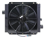 Mobile Hydraulic Oil Cooler Fan And Shroud Model Dc-20 12 Volt W/oc-63 With Or