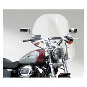 N.cycles Switchblade 2-up Windshield, Clear, For Harley Davidson Xl, Fxd 88-19