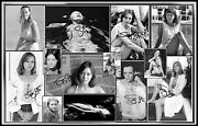 Jenny Agutter Signed Collage Cotton Canvas Image. Limited Edition Ja-5