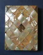 Victorian Mother-of-pearl / Abalone Calling Card Case - Late 19th Century