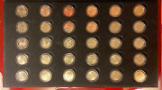 2009 Complete Territory 30 Quarter Uncirculated P And D - Satin P And D - Proof Set