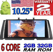 10,25 Android 9.0 Bmw Serie 7 F01 F02 Cic 4pin 2009-2012 Gps Radio Car Dvd Sd
