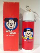 Zojirushi Walt Disney Mickey Mouse Our Super-hero Thermos With Box From Japan Nm