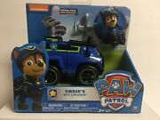 Paw Patrol - Chaseand039s Spy Cruiser- Vehicle With Removable Drone And Figure - New