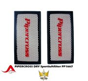 Pipercross Sports Air Filter Pp1667 Higher Air Outlet - Washable - Dry