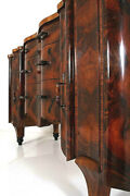 Art Deco Credence Buffet Sideboard Cabinet Root Wood Burr Wood Italy Piedmont
