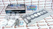 Cp-carrillo 84.5 9.01 Pistons And Cometic Gasket And Arp Head Studs For Bmw M54b30