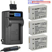 Kastar Battery Lcd Ac Charger For Canon Nb-7l 7lh Canon Powershot G12 Camera