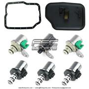 4f27e Fn4a-el Transmission Shift And Epc Solenoid W/ Filter Kit 1999-up Ford Mazda