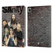 Official Wwe Sanity Leather Book Case For Apple Ipad