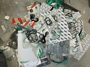 Lot Of Motorcycle/ Dirt Bike/ Atv Gaskets Seals Carb Jets Cables Etc.