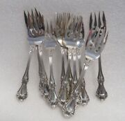 Antique Sterling Silver Robert Wallace And Sons Forks 12