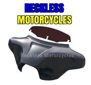 Detachable Batwing Fairing Harley Davidson 94-17 Softail Deluxe 4x5.25 Empty