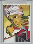 Classic Vintage Movie Posters Smc - Abbott And Costello Sketch Card By Sean Pence