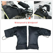 Outdoor Riding Motorcycle Handlebar Mittens Gloves Winter Thermal Heated Gloves