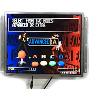 19 Inch Lcd Monitor With Holder Vga Hdmi Input For Arcade Game Jamma Mame Etc