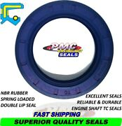 Oil Seal Tc Shaft Type Spring Loaded Double Sealing Lip - Nbr - Engine Or Wheels