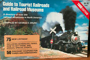 Guide To Tourist Railrads And Museums, Kalmbach, 250 Attractions, New 1988 Book