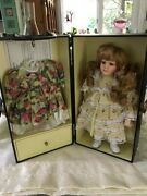 Lasting Impressions Companion Collection Doll With Wardrobe Case