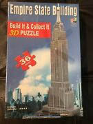 Empire State Building Built It And Collect It 3d Puzzle From Go Games - New