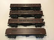 Williams Reproductions Of Lionel 2622 2626 2627 And 2628 Passenger Set