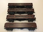 Williams Reproductions Of Lionel 2622, 2626, 2627 And 2628 Passenger Set