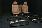 Bmw 7 Series F02 Long Leather Seats Interior Rhd Cars Brown Leather Trim