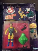 The Real Ghostbusters - Screaming Heroes- Venkman Action Figure - On Card-kenner
