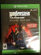 Brand New Wolfenstein Youngblood Deluxe Edition Xbox One Xb1 Buddy Pass