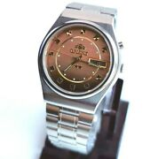Excellent Watches Orient Menand039s Automatic Costume Jewelry Bracelet Collectible