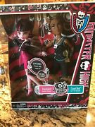 Monster High Draculaura And Clawd Wolf Music Festival
