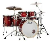 Pearl Session Studio Select 5-piece Shell Pack - 22 Bass Drum - Antique Crimson