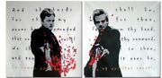 Hand Painted Two-piece Oil Painting On Canvas Art - The Boondock Saints