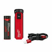 Milwaukee 48-59-2013 Redlithium Usb Charger And Portable Power Source Stick Kit