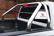 Black Horse For 15-21 Chevy Colorado/ Gmc Canyon Stainless Roll Bar Bed Rack