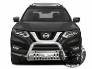 Black Horse Bull Bar Fits 14-20 Nissan Rogue Led Nudge Grille Guard Protector